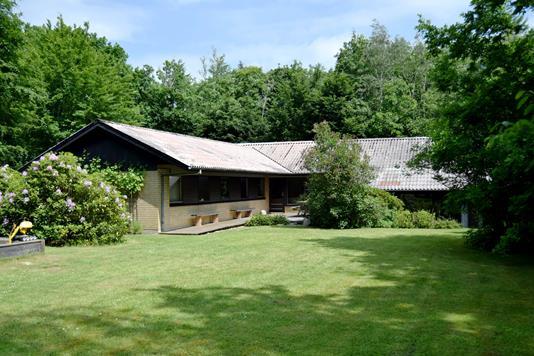 Villa på Skovvænget i Tarm - Facade
