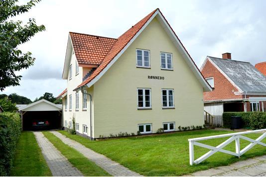 Villa på Vardevej i Tarm - Facade