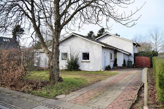 Villa på Østervej i Tarm - Facade
