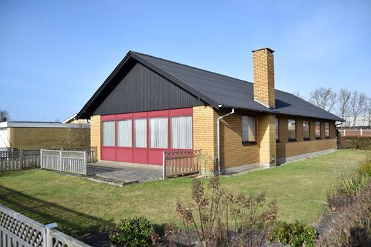 Villa på Fasanvej i Tarm - Facade