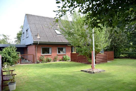 Villa på Søndertoften i Tarm - Facade
