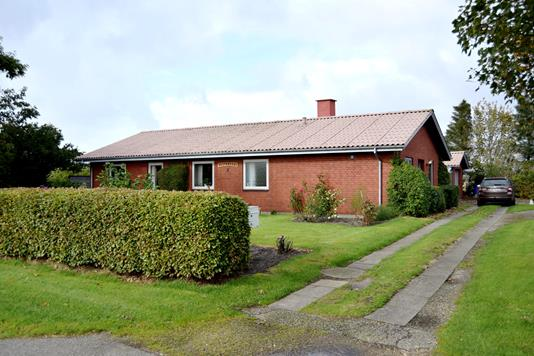 Villa på Vesterbyvej i Tarm - Facade