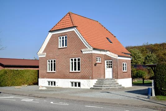 Villa på Åboulevarden i Tarm - Facade