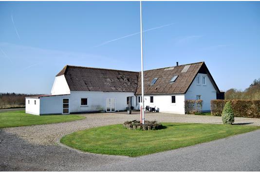 Villa på Teglgårdsvej i Tarm - Facade