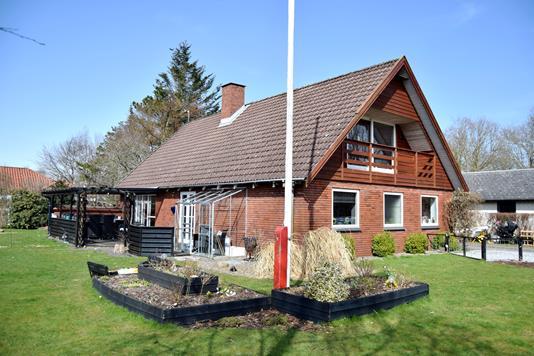 Villa på Gjerager i Tarm - Facade