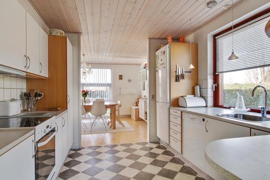 Villa på Vester Alle i Herning - Køkken