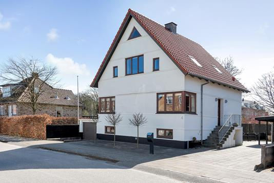 Villa på Slagelsegade i Herning - Ejendommen