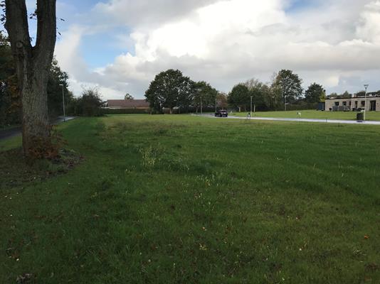 Helårsgrund på Linåtoften i Sunds - Byggegrund
