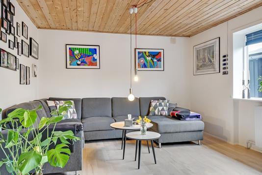 Villa på Skolevænget i Esbjerg N - Stue