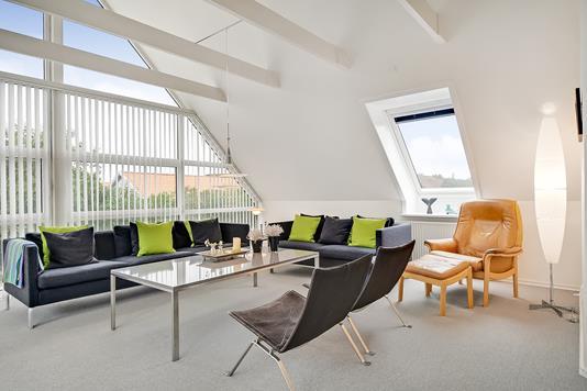 Villa på Hybenvænget i Esbjerg V - Stue