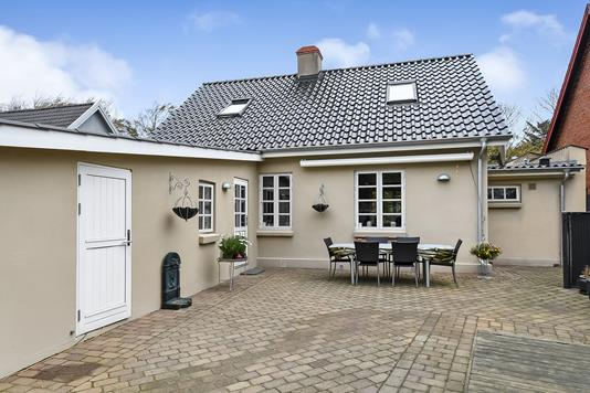 Villa på Guldager Stationsvej i Esbjerg V - Terrasse