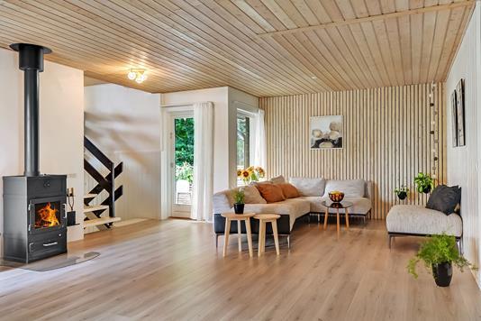 Villa på Tremhøjevej i Tjæreborg - Stue