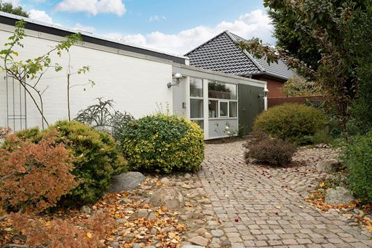 Villa på Fyrrevangen i Esbjerg N - Terrasse