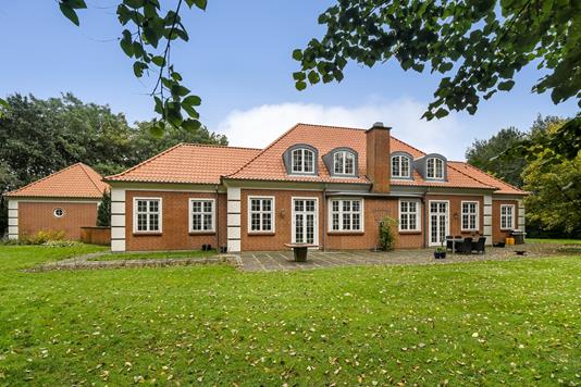 Villa på Borgergade i Ansager - Ejendommen