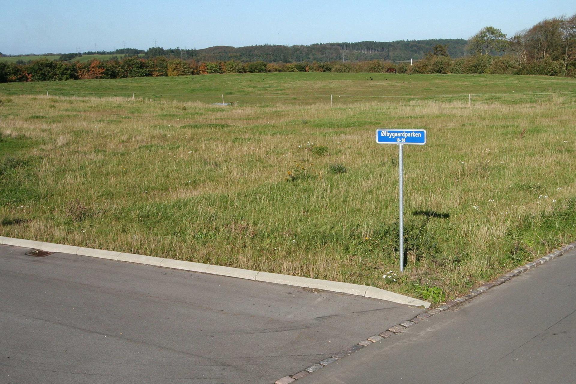 Helårsgrund på Ølbygaardparken i Struer - Område
