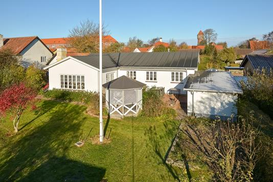 Villa på Johs Buchholtz Vej i Struer - Facade havesiden