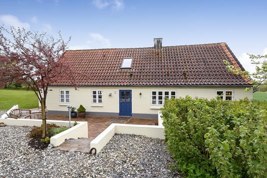 Villa på Vester Egebjergvej i Vinderup - Ejendommen