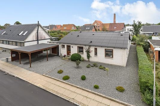 Villa på Østervang i Hjerm - Ejendommen