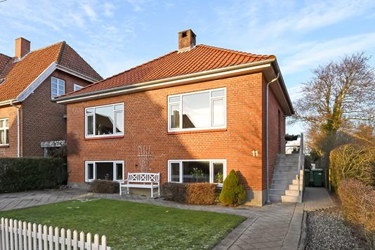 Villa på Fredensgade i Struer - Terrasse