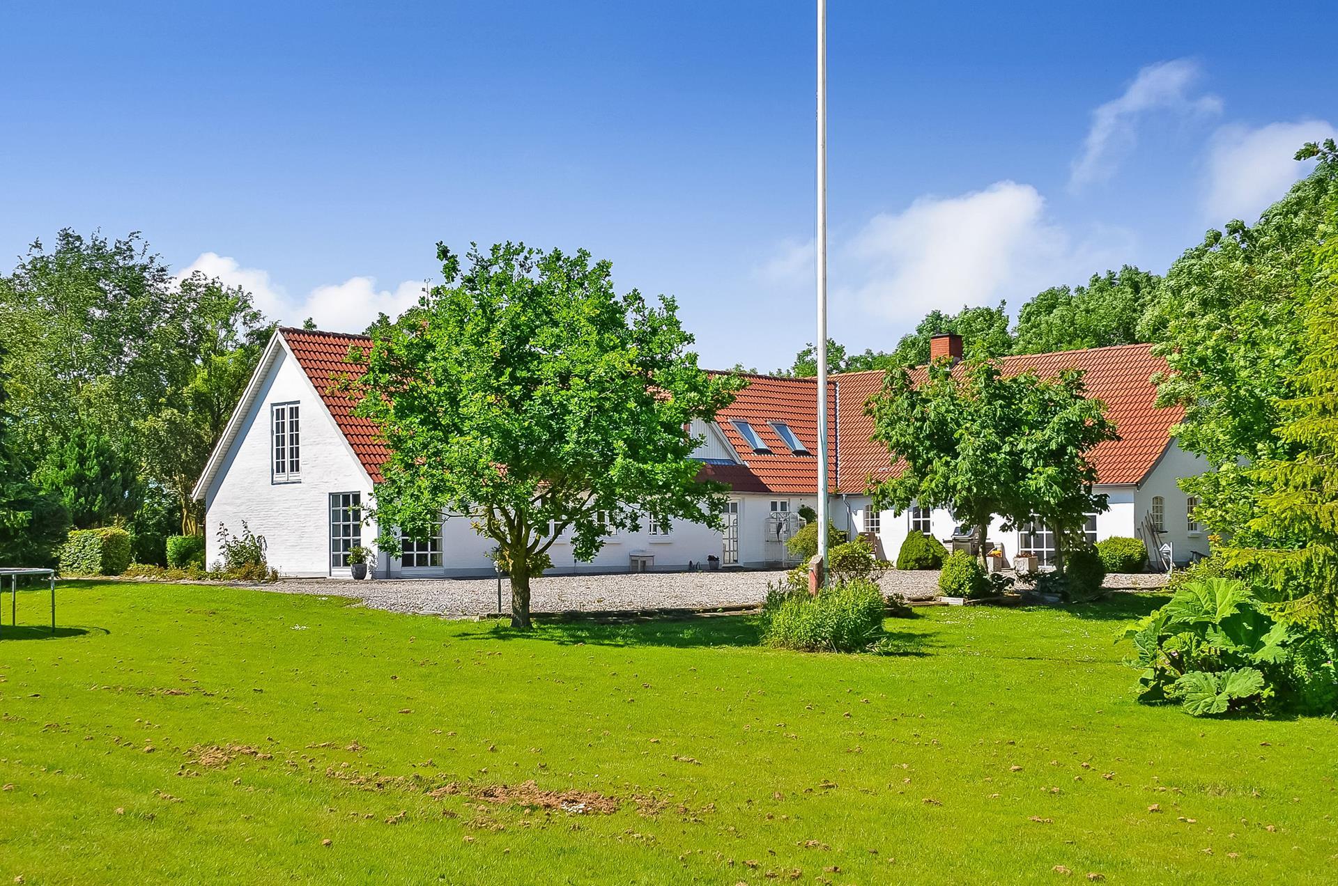 Landejendom på Vester Gimsingvej i Struer - Ejendommen