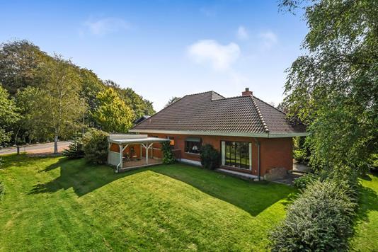 Villa på Østerbrogade i Grindsted - Ejendommen