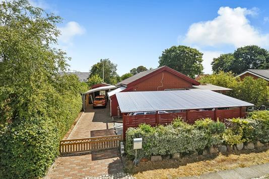 Villa på Glentevej i Grindsted - Ejendommen