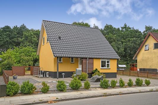 Villa på Nørreled i Grindsted - Ejendommen