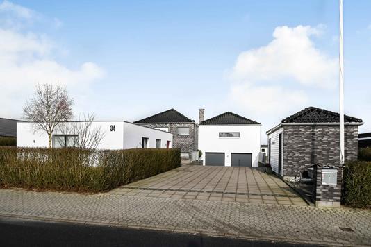 Villa på Morsbøl Søvej i Grindsted - Ejendommen