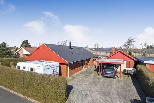 Villa på Østervænget i Vorbasse - Ejendommen