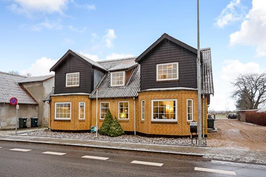 Villa på Borgergade i Stakroge - Ejendommen