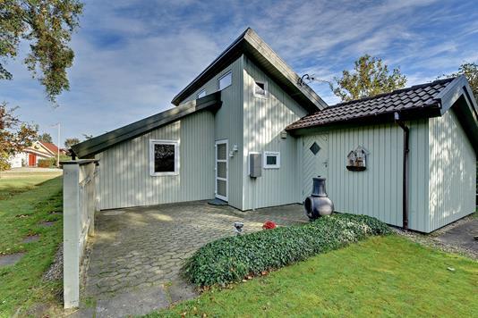 Fritidsbolig på Bork Hytteby i Hemmet - Ejendommen
