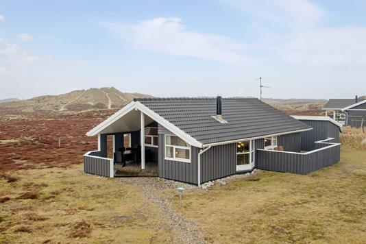 Fritidsbolig på Bjerregårdsvej i Hvide Sande - Mastefoto
