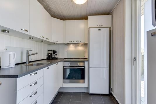 Fritidsbolig på Julianevej i Hvide Sande - Køkken