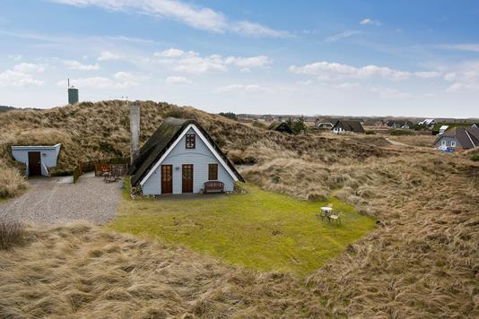 Fritidsbolig på Nymandsbjerg i Hvide Sande - Ejendommen