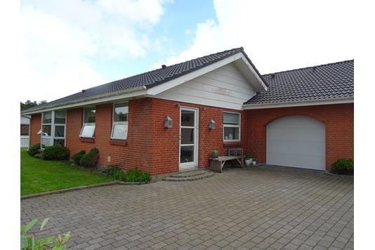 Villa på Floravænget i Hanstholm - Facade