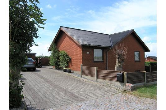 Villa på Gyvelvænget i Hanstholm - Facade