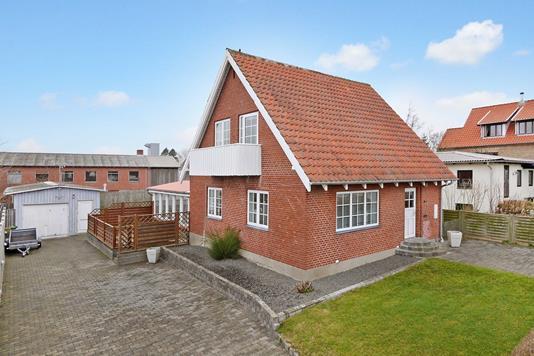 Villa på Grønlandsvej i Thisted - Ejendommen