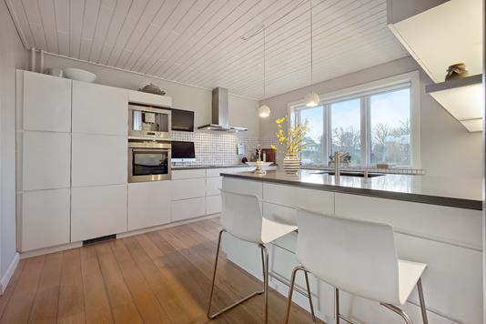 Villa på Simons Bakke i Thisted - Køkken
