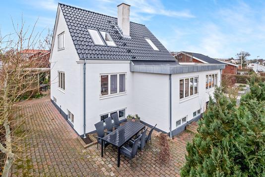 Villa på Aabergsvej i Thisted - Ejendommen