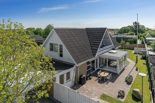 Villa på Toftevej i Thisted - Facade
