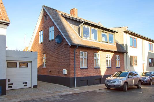 Villa på I. P. Jacobsens Gade i Thisted - Facade