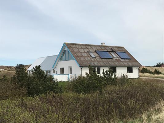 Villa på Sømærkevej i Snedsted - Facade