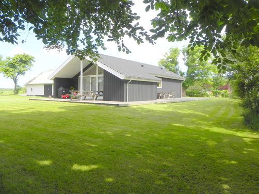 Villa på Kærupvej i Frøstrup - Facade