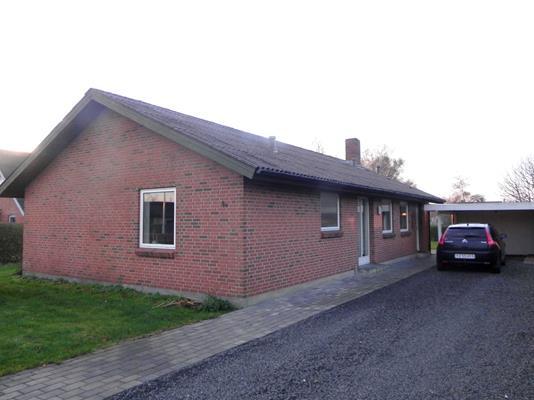 Villa på Æblevej i Frøstrup - Facade