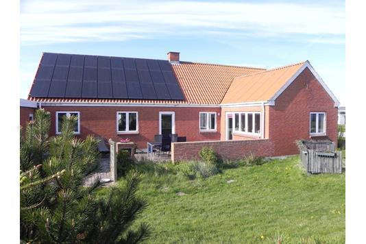 Villa på Strandvejen i Frøstrup - Facade
