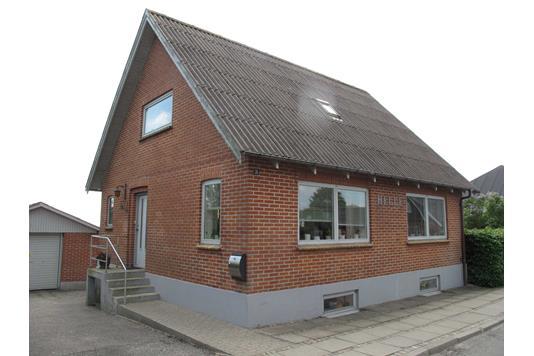 Villa på Vangsgade i Snedsted - Facade