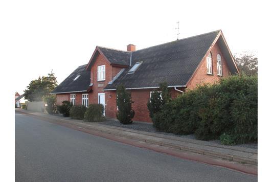 Villa på Møgelvej i Snedsted - Facade