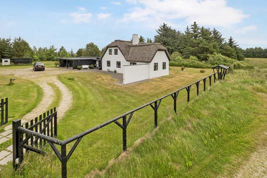 Villa på Klitmøllervej i Thisted - Facade