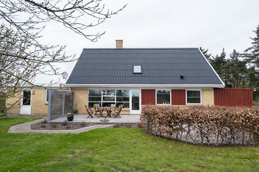 Villa på Blommevej i Frøstrup - Facade