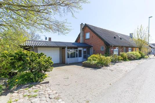 Villa på Langebeksvej i Thisted - Facade